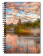 The Cotton Candy Sky Spiral Notebook