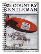 The Country Gentleman Spiral Notebook