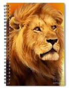 The Courageous Cecil - African Lion Spiral Notebook