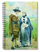 The Courtship Of Miles Standish Spiral Notebook