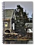 The Cove At Dusk Spiral Notebook