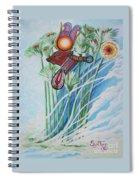 Blaa Kattproduksjoner           The Cow Goddess - Hathor Spiral Notebook