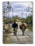 The Cow Herder Spiral Notebook