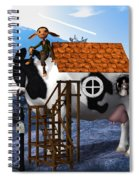 The Cow House Spiral Notebook