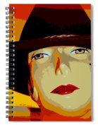 The Cowgirl Spiral Notebook