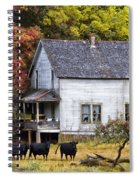 The Cows Came Home Spiral Notebook