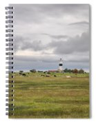 The Cows Of Ottenby 1 Spiral Notebook