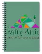 The Crafty Attic Spiral Notebook
