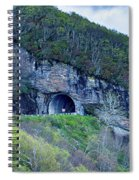 The Craggy Pinnacle Tunnel On The Blue Ridge Parkway In North Ca Spiral Notebook