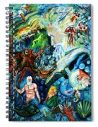 The Creation Of The Ocean Spiral Notebook