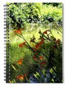 The Creek At The Old Mill Spiral Notebook