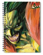The Creeper Spiral Notebook