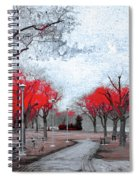 The Crimson Trees Spiral Notebook