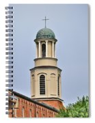 The Cross On Top Spiral Notebook