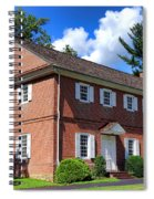 The Crosswicks Meeting House In Chesterfield  Spiral Notebook