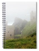 The Crowns In Fog Spiral Notebook