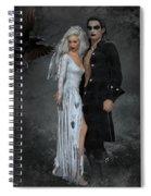 The Crows Wedding Spiral Notebook