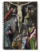 The Crucifixion Spiral Notebook