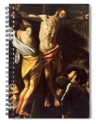 The Crucifixion Of Saint Andrew Spiral Notebook