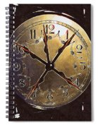 The Crucifixion Of Time Spiral Notebook