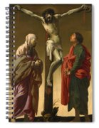 The Crucifixion With The Virgin And Saint John Spiral Notebook
