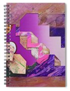 The Cubist Scream Spiral Notebook