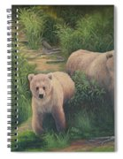 The Cubs Of Katmai Spiral Notebook