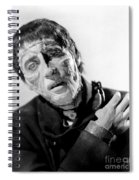 The Curse Of Frankenstein Christopher Lee 1957 Spiral Notebook