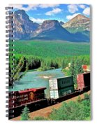 The Curve Spiral Notebook