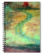 The Curve In The Road Spiral Notebook