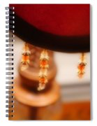 The Curve Of Desire Spiral Notebook