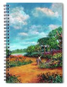 The Cycle Of Life Spiral Notebook