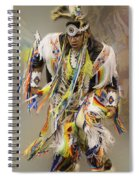 Pow Wow The Dance 4 Spiral Notebook