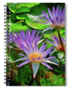 The Dance Of The Lillies Spiral Notebook