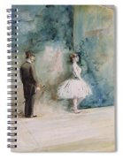 The Dancer Spiral Notebook