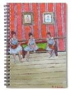 The Dancers Spiral Notebook