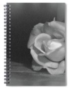 The Dark Rose Spiral Notebook