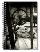 The Dark Side Of Nostalgia Spiral Notebook