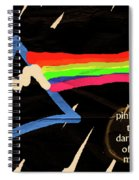 The Dark Side Of The Moon  Spiral Notebook
