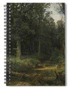 The Dark Wood Spiral Notebook