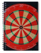 The Dart Board Spiral Notebook