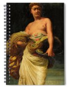 The Daughter Of Herodias, Salome Spiral Notebook