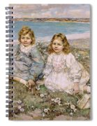 The Daughters Of Bertram Roberts Spiral Notebook
