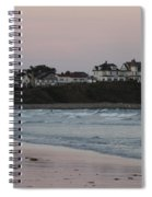 The Day Is Done At Long Sands Beach Spiral Notebook