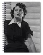 The Day The Earth Stood Still Movie Panel  1951 Spiral Notebook