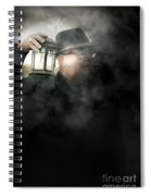 The Dead Of Night Spiral Notebook