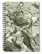 The Death And Burial Of Cock Robin Spiral Notebook