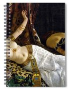 The Death Of Cleopatra Spiral Notebook