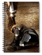 The Death Of Colgrin Spiral Notebook
