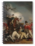 The Death Of General Mercer At The Battle Of Princeton, January 3, 1777  Spiral Notebook